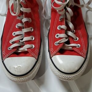 Converse Shoes - Converse all star red hightops